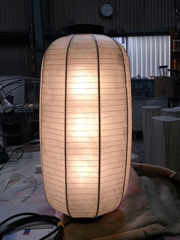 屋外用鉄筋提灯(長型提灯12号)W300